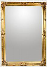 Large Gold Mirror with Movie Star History