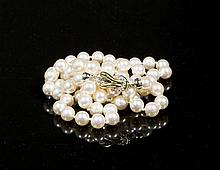 20thC Pearl Necklace