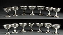 14 Gorham Sterling Silver Footed Desserts