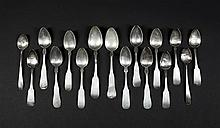 American Coin Silver Spoons