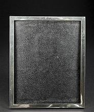 Black Star and Frost Sterling Silver Picture Frame