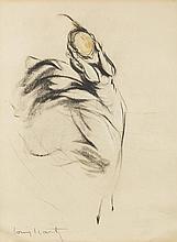 Louis Justin Laurent Icart, NY, France (1888-1950) Original Sketch