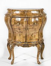French Style Bombe Commode