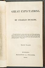 Dickens, Charles. Great Expectations, First American Edition, 1862.