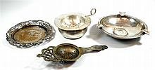 Lot 4 silver items
