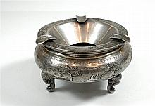 900 silver Vietnamese ashtray