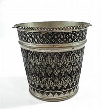 An Old Persian ice bucket, silver 84