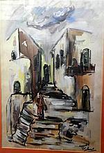 Samuel Tepler (1918-1998), a street in the city