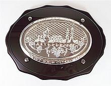 Set knife + tray to Challah for Shabbat,