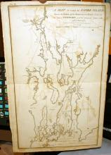 1807 Map of Newport Rhode Island from Marshall's