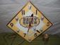 "15"" Diamond Pam DAIRY QUEEN Advertising Clock-Works 100%"
