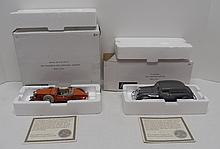 (2) National Motor Museum Mint die-cast vehicles with COA's