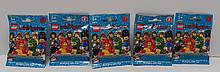 (5) Packs of Series 5 2011 Lego Minifigures