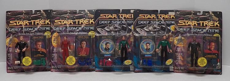 5 1993 1994 star trek deep space nine action figures for Deep house 1994