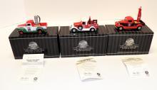 (3) Matchbox Collectibles Platinum Edition TEXACO Pickup Trucks