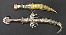 TWO DAGGERS (JAMBIYA), LATE 19TH/20TH CENTURY the