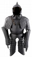 A COMPOSITE SOUTH GERMAN THREE-QUARTER FIELD ARMOUR, LATE 16TH/EARLY 17TH CENTURY