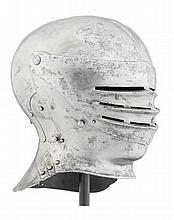 A RARE SOUTH GERMAN CLOSE HELMET FOR FIELD USE, CIRCA 1510-15