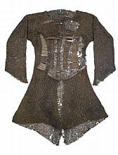 **A MAIL AND LAMELLAR SHIRT, 17TH CENTURY, EAST EUROPEAN OR RUSSIAN