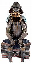 **A COMPOSITE JAPANESE ARMOUR (TOSEI GUSOKU), EDO PERIOD