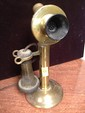 Brass Antique Stick Phone