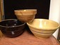 3 Early Mixing Bowls