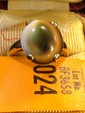 Estate Gold Ladies Tiger Eye Ring