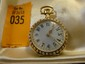 Estate 18kt Gold Ladies Watch with Enamel Portrait of Lady