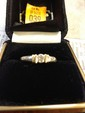 Estate 14kt Gold Ladies Diamond Ring