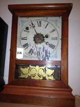 Atkins Clock Company Bristol CT, Miniture Shelf Clock