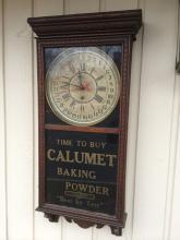 Calumet Baking Powder Clock