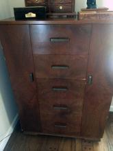 Vintage Chifferobe with Ceder Lining