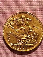 1925 Gold British Sovereign