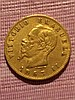 1863 20 Lire Gold Coin