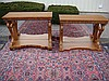 Matching Pair of Decorative Pier Tables