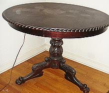 Estate Antique Breakfast Table or Parlor Table