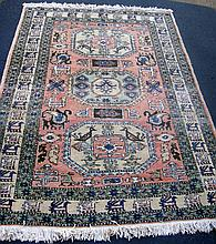 Persian Meshkin Rug - Tribal Pattern