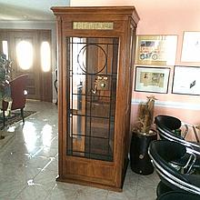 Vintage-Style Phone Booth with Working Phone