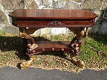 Mahogany Decorative Pier Table
