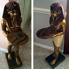 2 King Tut Decorative Tables
