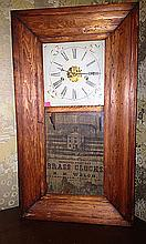 E.N. Welch, Forestville, CT, OG Shelf Clock