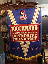 World War II Bond Drive Large Banner
