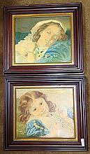 2 Estate Victorian Children's Prints