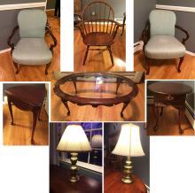Estate Furniture Lot