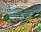 Arie Alweil 1901- 1967 Galilee Landscape, Arieh Allweil, Click for value