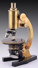 A german old microscope