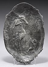 A EUROPEAN PEWTER RELIEF