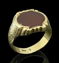9K GOLD MALE RING