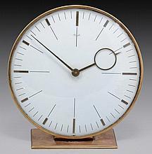 AN ANTIQUE GERMAN 8 DAY CLOCK