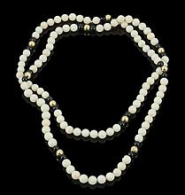 BABY CORAL BEADS NECLACE